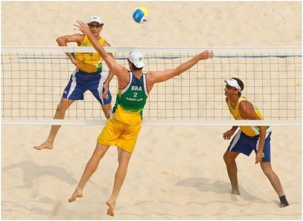 Пляжный волейбол. История пляжного волейбола фотография 1