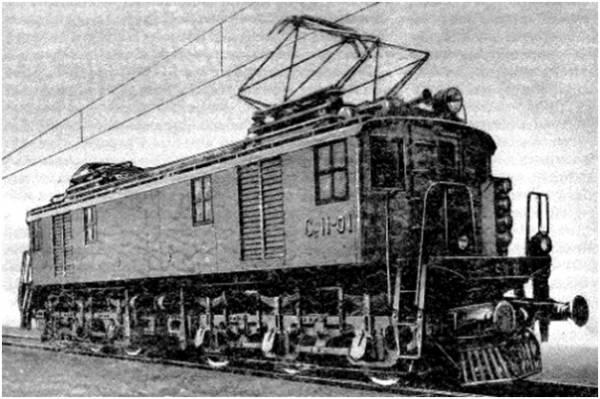 Электровозы. История электровоза. На фотографии электровоз Сс.
