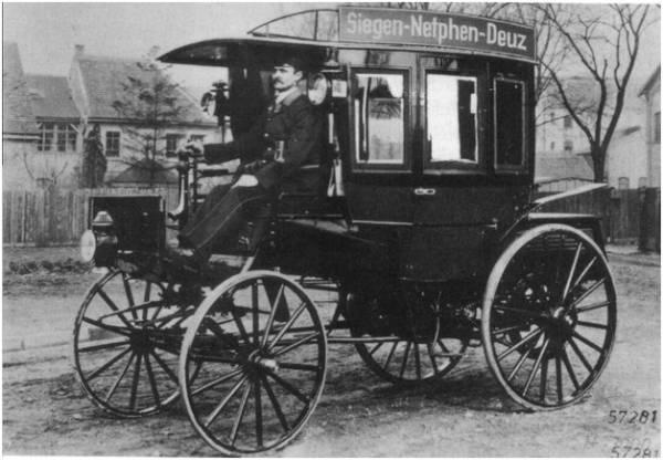 Автобусы! История автобусов! На фотографии автобус фирмы «Бенц».