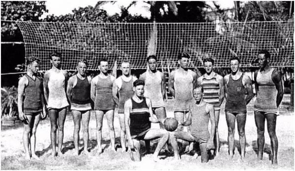 Пляжный волейбол. История пляжного волейбола фотография 2